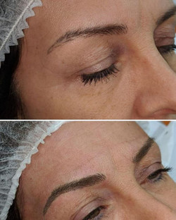 Microblading by me 💜 💜Healed results f
