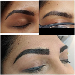 Finished powder brows, don't be afraid o