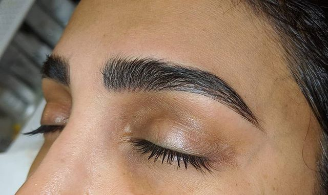 Fluffy Microblading 😍 Client wanted ful