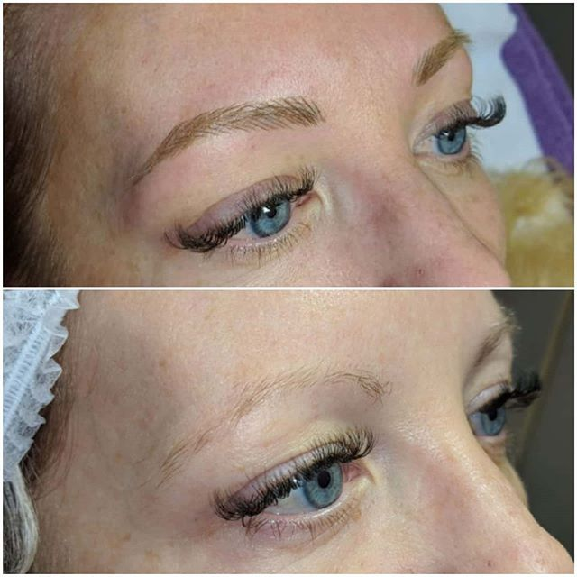 Microblading by Rebecca Pearl 😍  My cli
