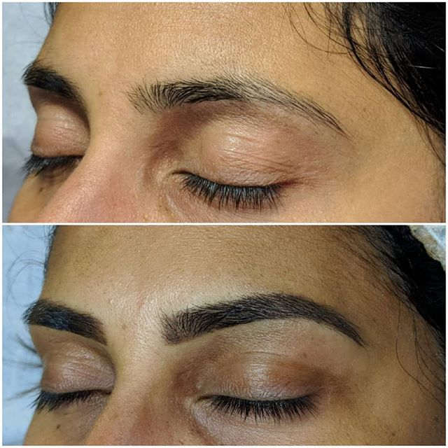 Fresh Ombre brows 👌  Soft shading and l