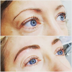 Microblading by Rebecca Pearl 💜_Client