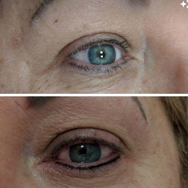 SPMU top up bottom eyeliner, over time p