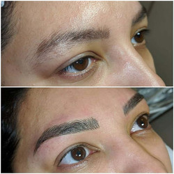 Microblading by Rebecca Pearl 😍 How nic