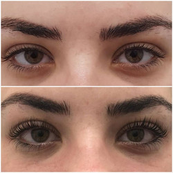 Lvl magic 😍 look how long and lifted her lashes are!!!! #lvllashes #length #volume #lift #curlylash