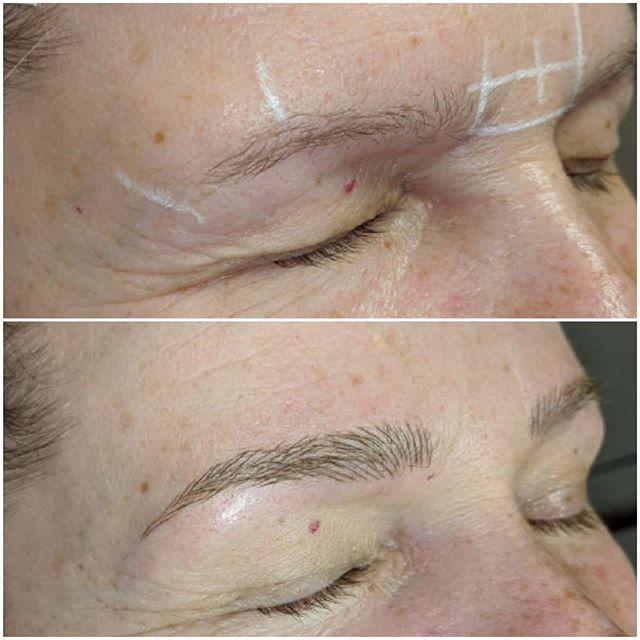 Microblading 1st session