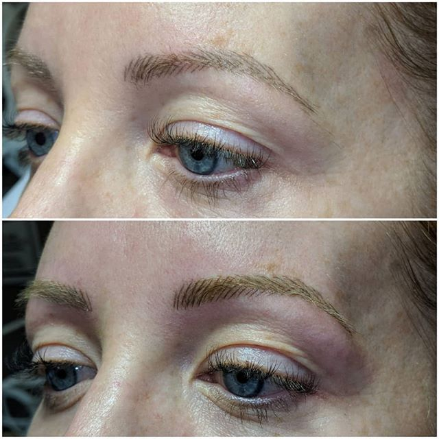 Microblading 6 week touch up appointment