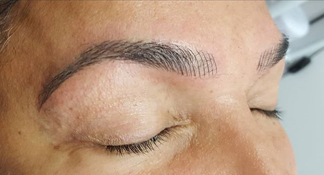 1st session of microblading for these be