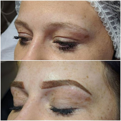 Ombre brows 😍 💜Creating new brows 💜So
