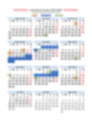 Calendario provisional  CPD 2019-2020 (4