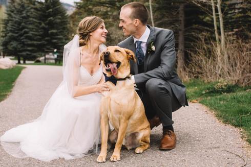 Jenny + Clint - Destination wedding in Vail, Colorado