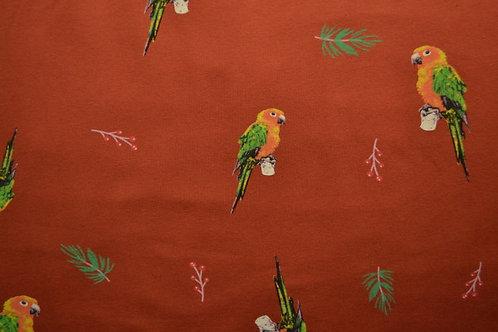 Roest vogeltjes - Katoen jersey