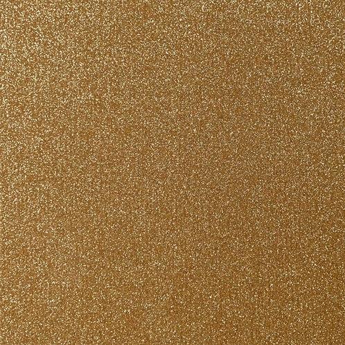Geelbruin - Siser - Glitter 2 flexfolie