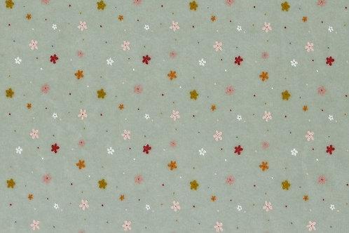 *Munt bloemsterretjes - Poppy - Nicky Velours
