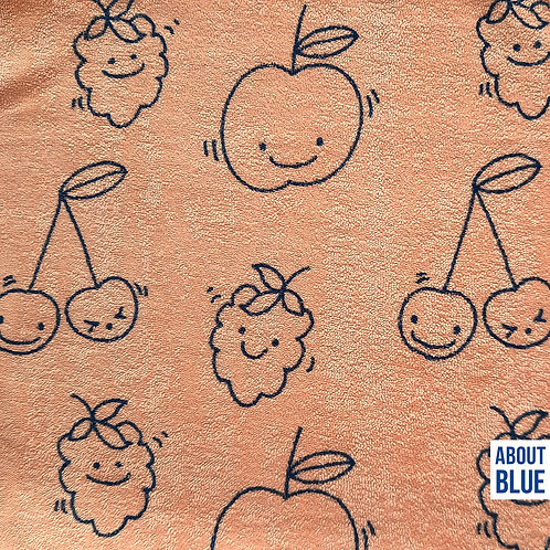*Happy Fruit - About Blue - Terry Cloth