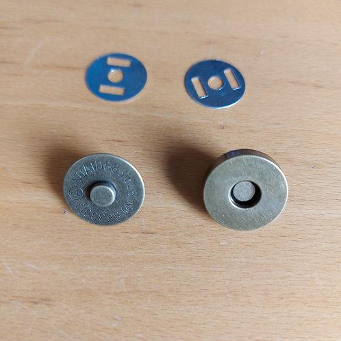*Magneetsluiting - Brons