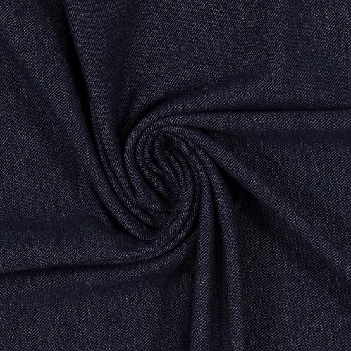 Donkerblauw - Swafing - Katoen Spandex Jeanslook