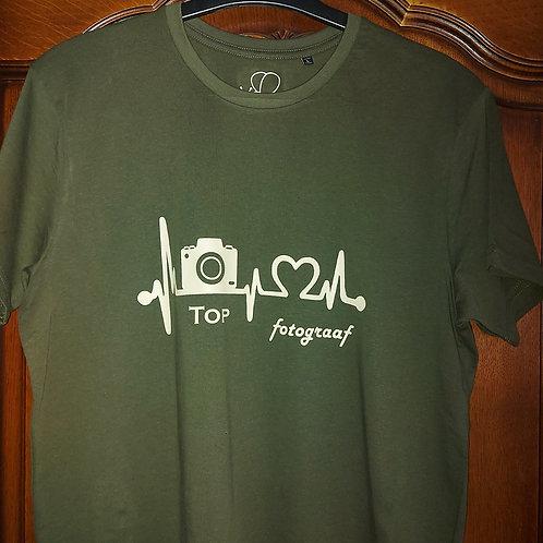 T-shirt mannen met flex - B&C - Te personaliseren naar wens