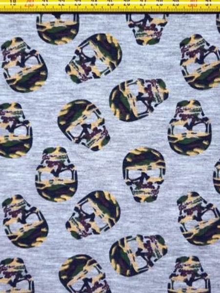 *Skulls - Katoen jersey