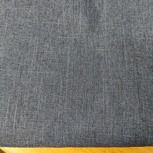 Jeansblauw - Katoen/Polyester