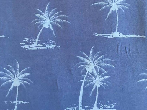 Blauw lichtblauwe palmbomen - Jersey