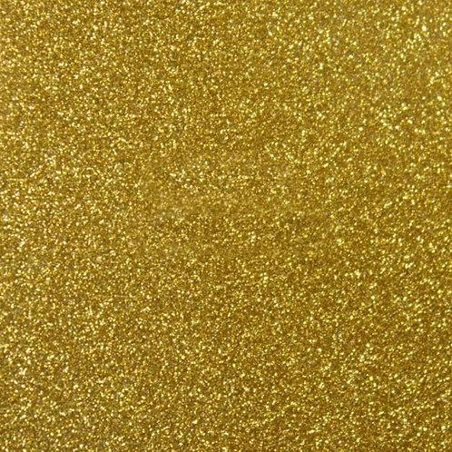 Oud goud - Siser - Glitter 2 flexfolie