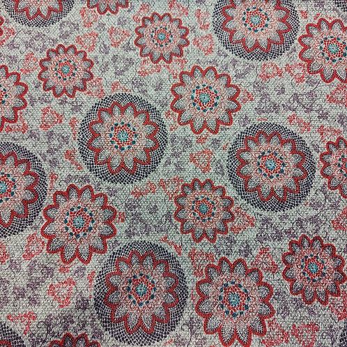 Bloemen - Angora tricot