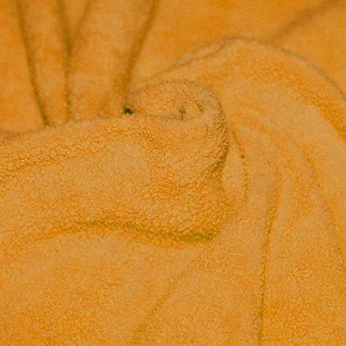 Geel - Katoen Fleece Sherpa
