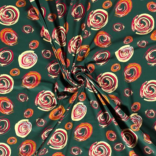 Cirkels - Nooteboom - Katoen jersey