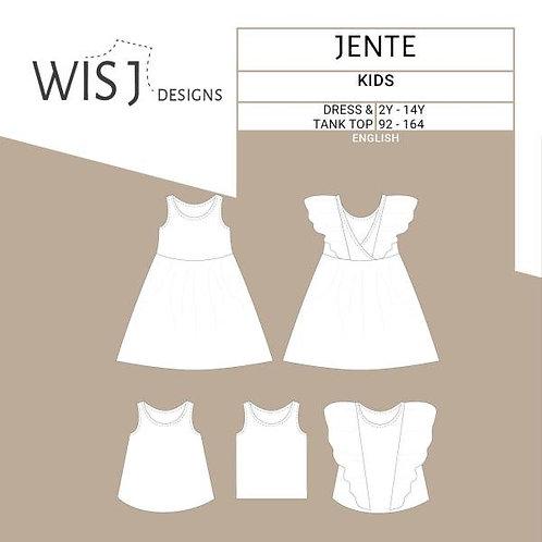 Patroon - Jente Kleed/Tank Top - Wisj