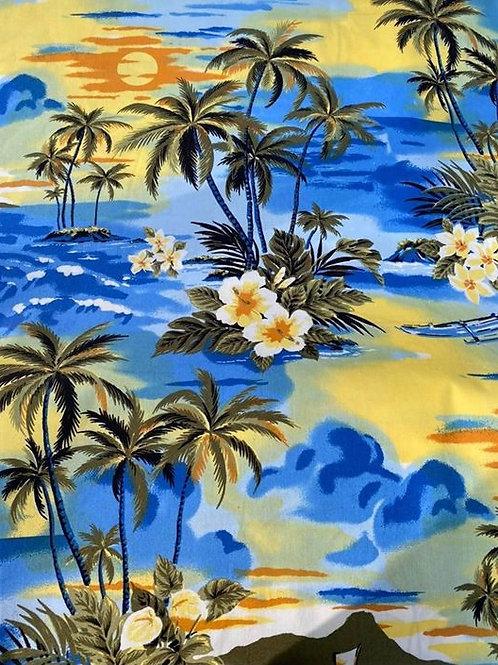 Palmbomen - ideaal voor zwemshort - Polyester