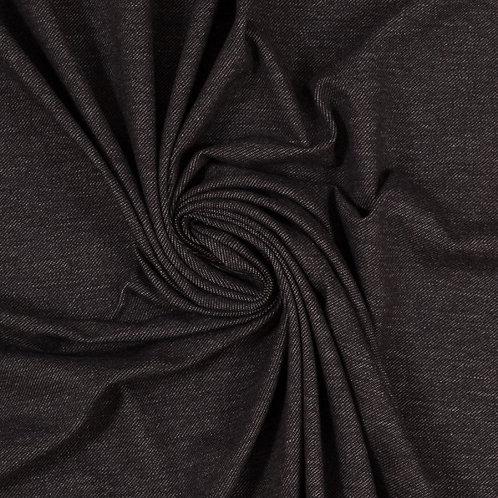Zwart - Swafing - Katoen Spandex jeanslook