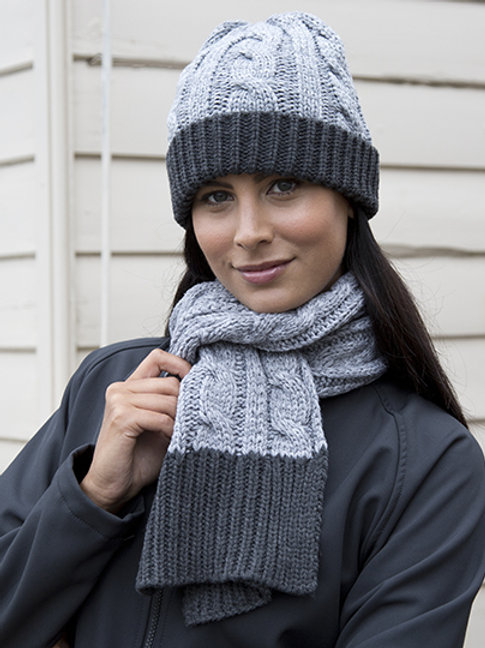 Gebreide sjaal - Result Winter Essentials
