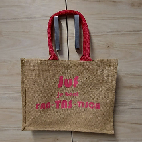Jute shopper - Westford Mill - Te personaliseren naar wens