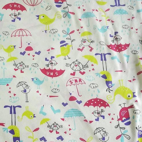 Paraplu - Katoen jersey