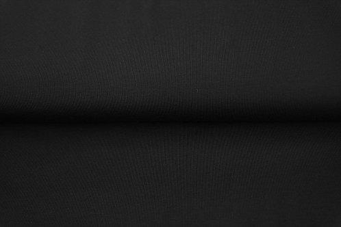 Zwart - Katoen jersey