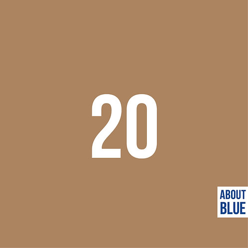 Uni 20 - About Blue - French terry
