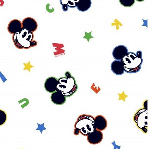 Mickey Mouse - Katoen/Poplin