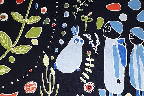 Kleurrijk canvas katoen