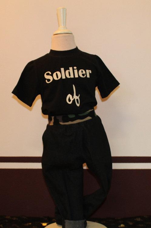 Stoer 2-delig setje in leger stijl