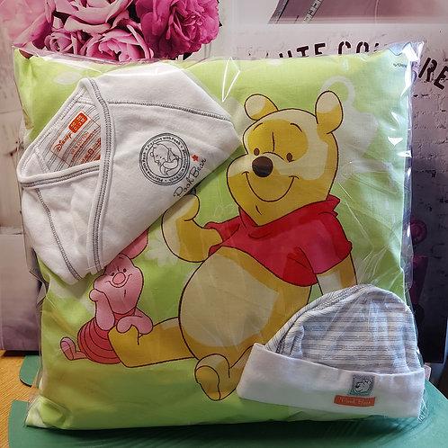 Kussen incl personalisatie naar wens - Winnie The Pooh