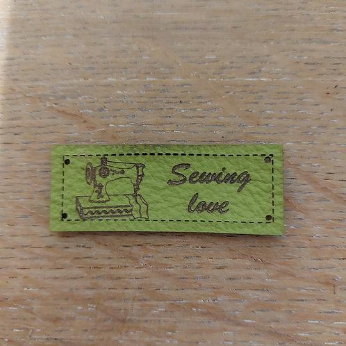 Leder label