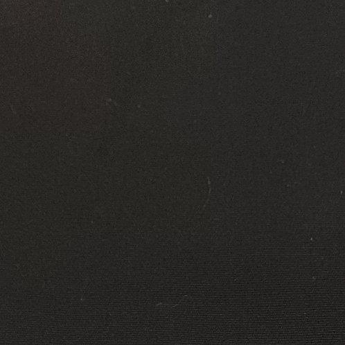 Zwart - Fijne katoen/viscose