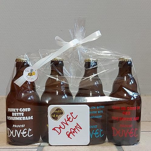 Bier flessen met flesopener - Te personaliseren naar wens