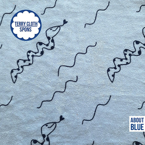 About Blue - S van Slang