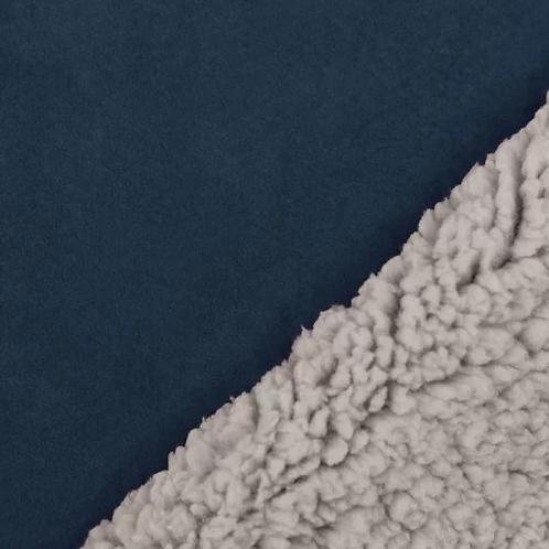 Sherpa namaakbont lamsstof - Polyester/Elastan