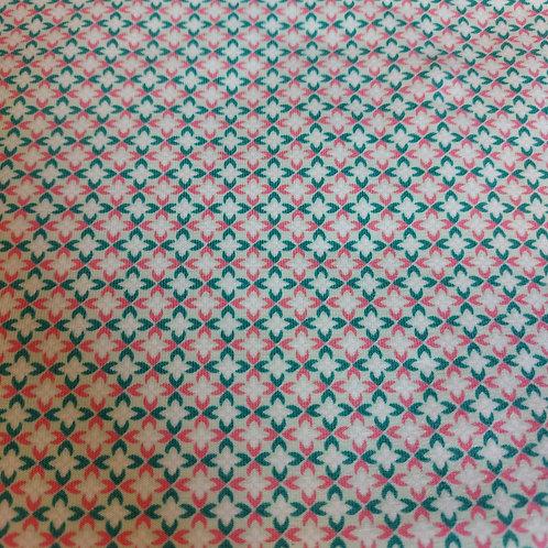 Groen/Roze - Poppy - Katoen jersey