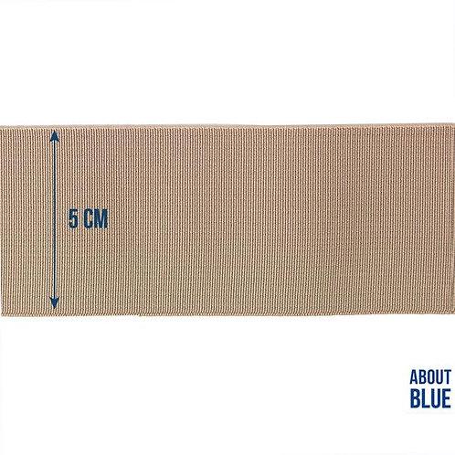 Lichtbruin - About Blue - Sier elastiek