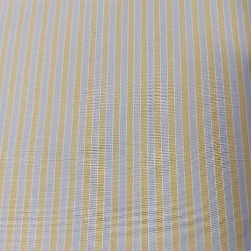 Grijs/Gele streep - Katoen