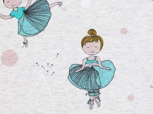 Ballerina - Alpenfleece -Katoen/Polyester/Elastan